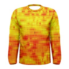 Background Image Abstract Design Men s Long Sleeve Tee
