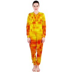 Background Image Abstract Design Onepiece Jumpsuit (ladies)