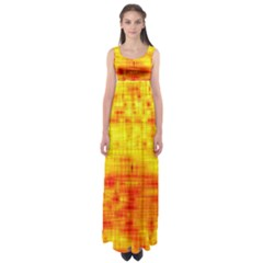 Background Image Abstract Design Empire Waist Maxi Dress