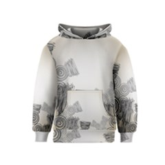 Background Retro Abstract Pattern Kids  Pullover Hoodie