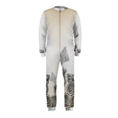Background Retro Abstract Pattern OnePiece Jumpsuit (Kids)