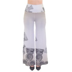Background Retro Abstract Pattern Pants