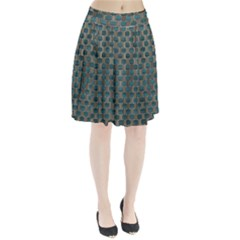Background Vert Pleated Skirt