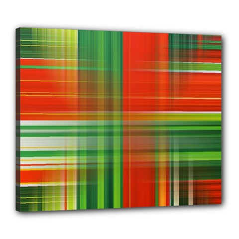 Background Texture Structure Green Canvas 24  x 20