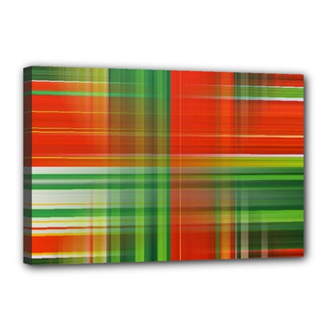 Background Texture Structure Green Canvas 18  x 12