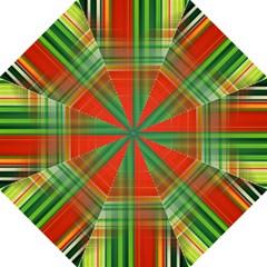 Background Texture Structure Green Straight Umbrellas