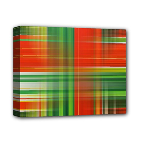 Background Texture Structure Green Deluxe Canvas 14  x 11