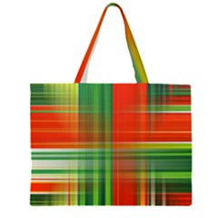 Background Texture Structure Green Large Tote Bag