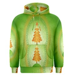 Beautiful Christmas Tree Design Men s Pullover Hoodie