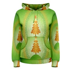 Beautiful Christmas Tree Design Women s Pullover Hoodie