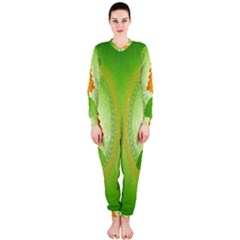 Beautiful Christmas Tree Design Onepiece Jumpsuit (ladies)