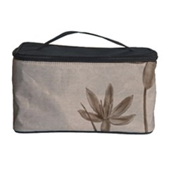 Background Vintage Drawing Sepia Cosmetic Storage Case