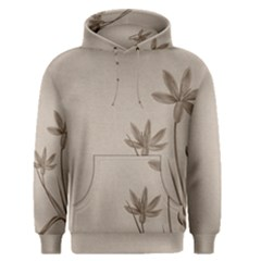 Background Vintage Drawing Sepia Men s Pullover Hoodie