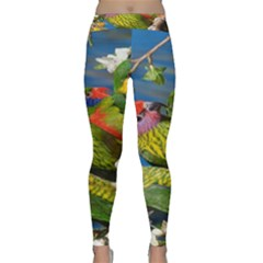 Beautifull Parrots Bird Classic Yoga Leggings
