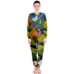 Beautifull Parrots Bird OnePiece Jumpsuit (Ladies)