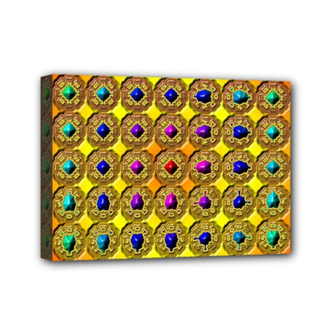 Background Tile Kaleidoscope Mini Canvas 7  x 5
