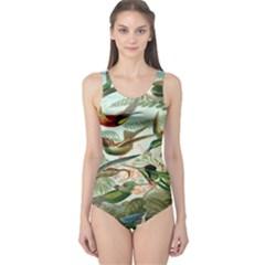 Beautiful Bird One Piece Swimsuit