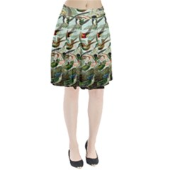 Beautiful Bird Pleated Skirt