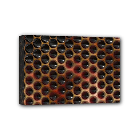 Beehive Pattern Mini Canvas 6  x 4