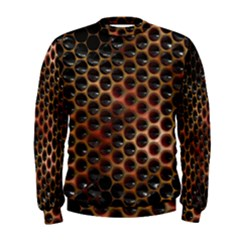 Beehive Pattern Men s Sweatshirt