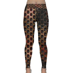 Beehive Pattern Classic Yoga Leggings