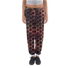 Beehive Pattern Women s Jogger Sweatpants