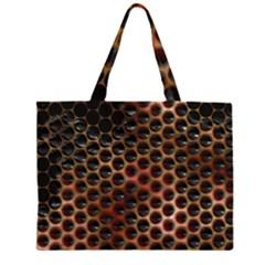 Beehive Pattern Large Tote Bag