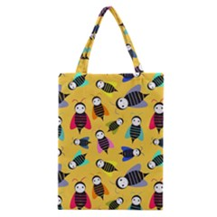 Bees Animal Pattern Classic Tote Bag