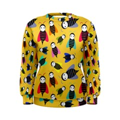 Bees Animal Pattern Women s Sweatshirt