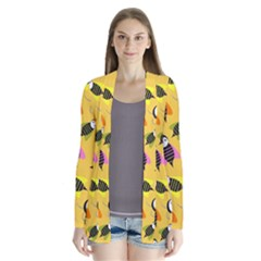 Bees Animal Pattern Cardigans