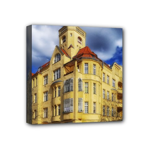 Berlin Friednau Germany Building Mini Canvas 4  x 4