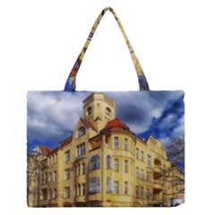Berlin Friednau Germany Building Medium Zipper Tote Bag