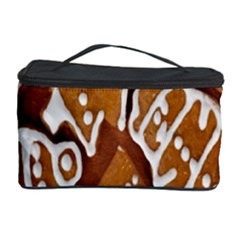 Biscuit Brown Christmas Cookie Cosmetic Storage Case