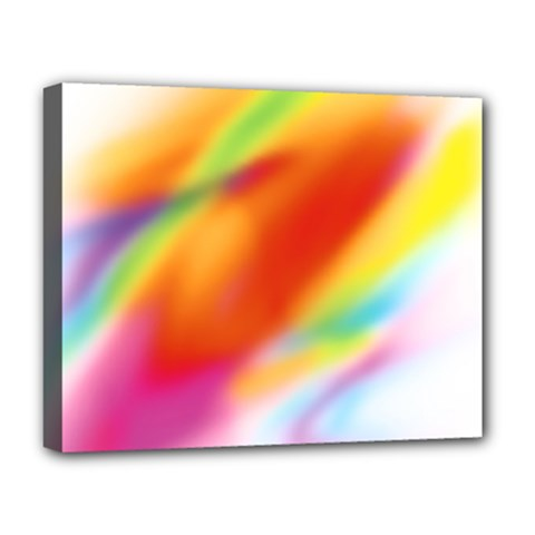 Blur Color Colorful Background Deluxe Canvas 20  x 16