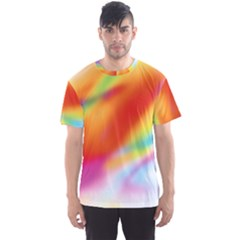 Blur Color Colorful Background Men s Sport Mesh Tee