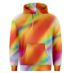 Blur Color Colorful Background Men s Pullover Hoodie