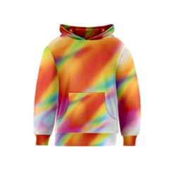 Blur Color Colorful Background Kids  Pullover Hoodie