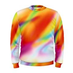 Blur Color Colorful Background Men s Sweatshirt