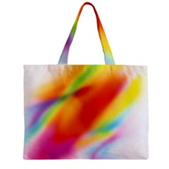 Blur Color Colorful Background Zipper Mini Tote Bag
