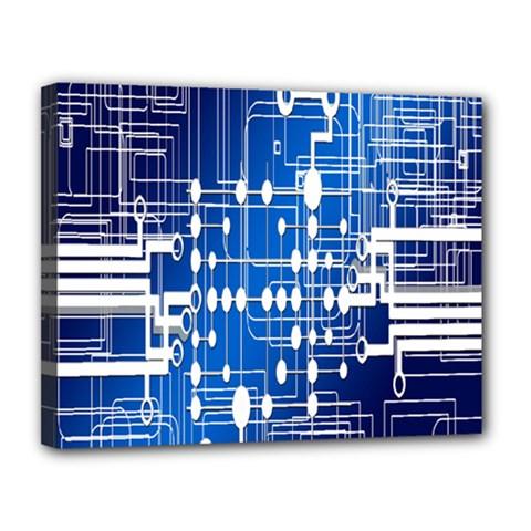 Board Circuits Trace Control Center Canvas 14  x 11