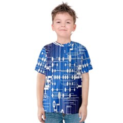 Board Circuits Trace Control Center Kids  Cotton Tee
