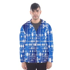 Board Circuits Trace Control Center Hooded Wind Breaker (Men)