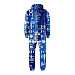 Board Circuits Trace Control Center Hooded Jumpsuit (kids)