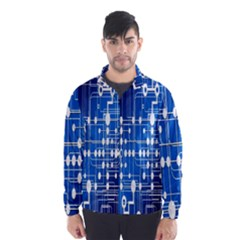Board Circuits Trace Control Center Wind Breaker (men)