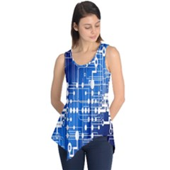 Board Circuits Trace Control Center Sleeveless Tunic
