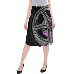 Bord Edge Wheel Tire Black Car Midi Beach Skirt