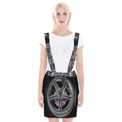 Bord Edge Wheel Tire Black Car Suspender Skirt