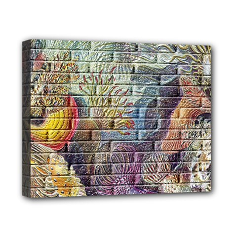 Brick Of Walls With Color Patterns Canvas 10  x 8