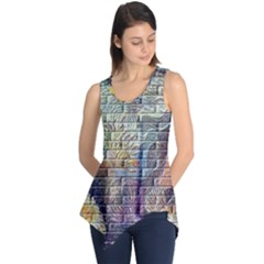 Brick Of Walls With Color Patterns Sleeveless Tunic