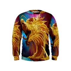 Broncefigur Golden Dragon Kids  Sweatshirt